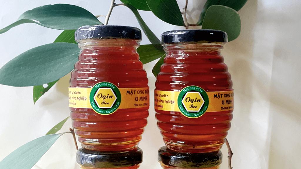 mật ong rừng u minh nguyên chất 100ml